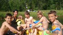 Kindergeburtstag mit Raftingtour