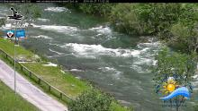 Livebilder von der Wildwasserarena Mölltal