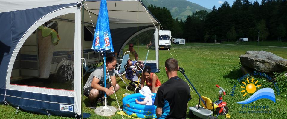 Naturcampingplatz bietet Spaß fuer Groß und Klein