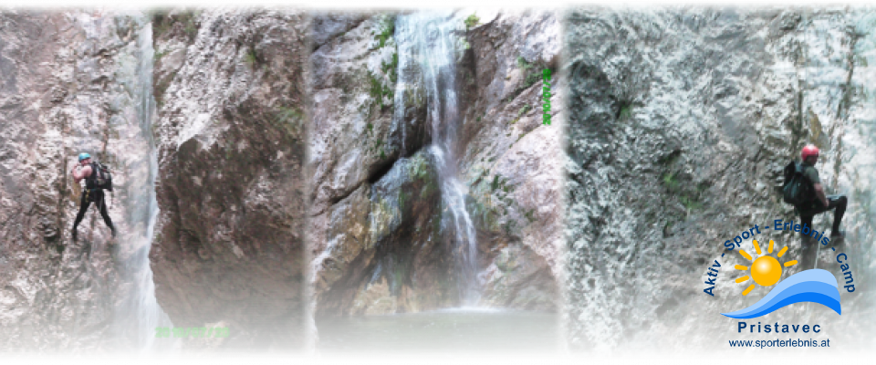 Canyoning in Torrente Favarinis, Rio Frondizzon