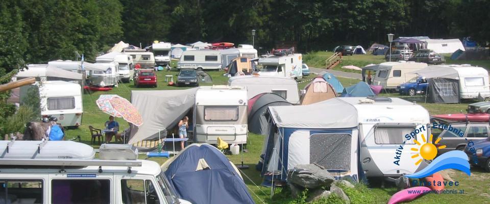 Campingplatz Jeder kann sich seinen Platz selber aussuchen