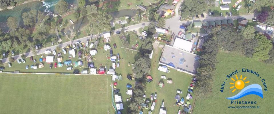 Camping, Motorikpark, Skaterplatz, Fußballplatz