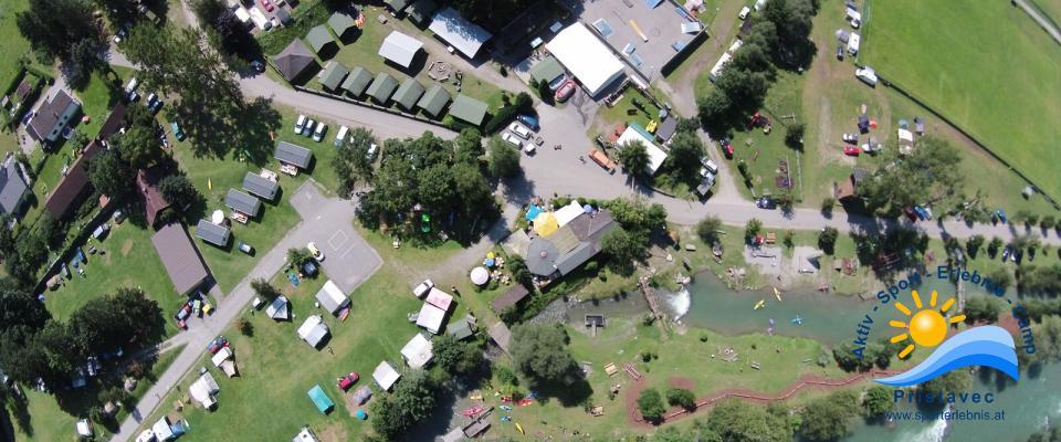 Wasserwelt, Camping, Motorikpark, Restaurant, Rafting, Canyoning