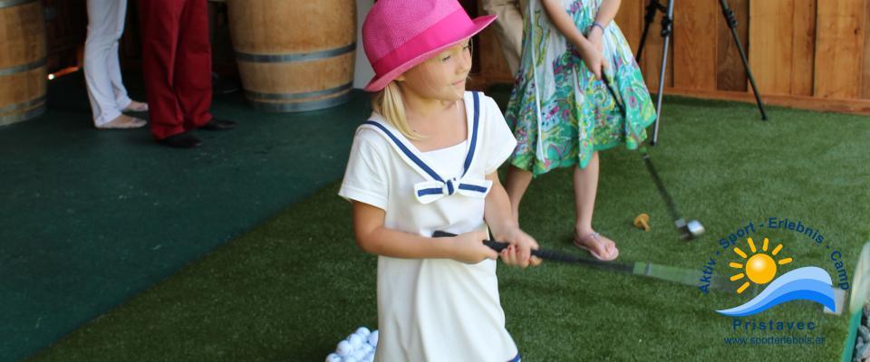 Golf auch für die Kleinsten