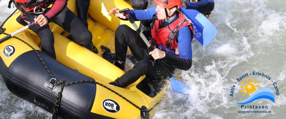 Rafting Wildwasserstrecke Mölltal/Kärnten