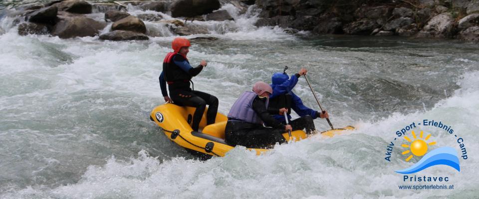 Rafting Kärnten/ Rafting Möll