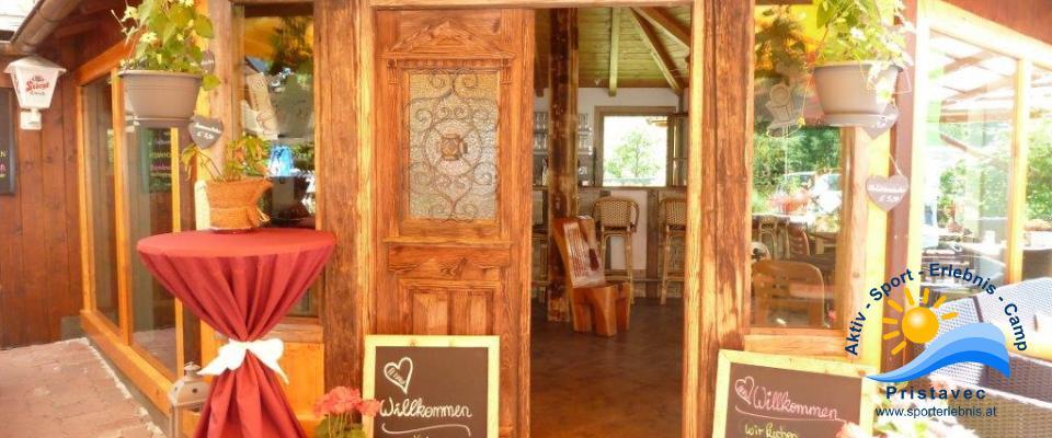Bar, Restaurant Eingang