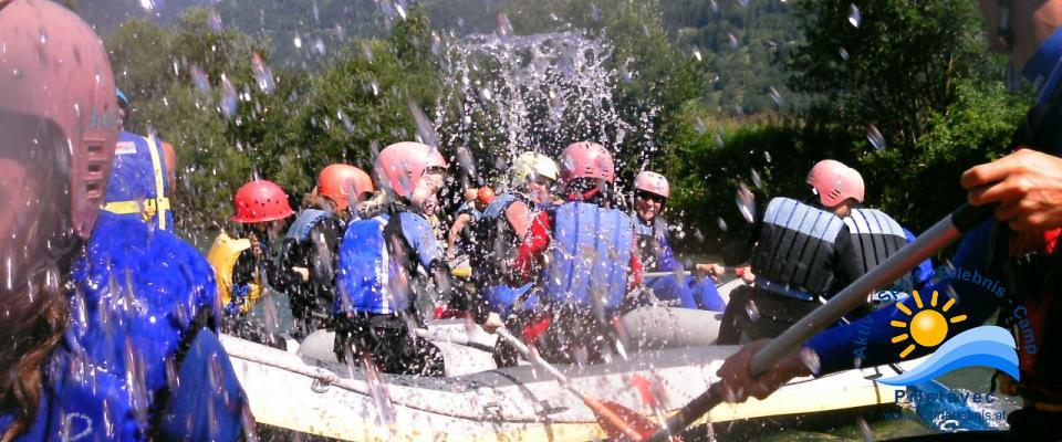 Rafting auf der Möll - ein riesen Spaß