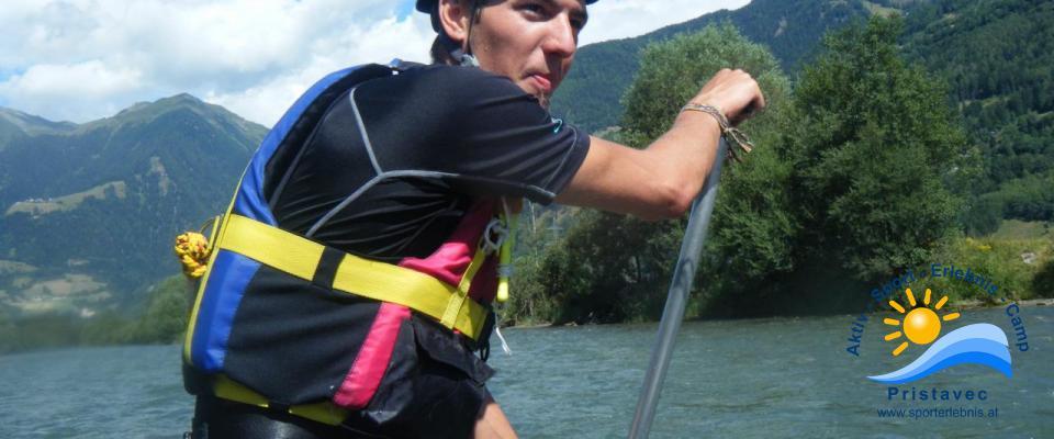 Rafting auf der Möll - Einstieg ins Rafting