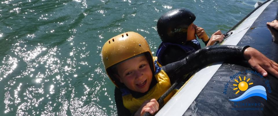 "Rafting Jung und Alt ""Mann über Bord"""