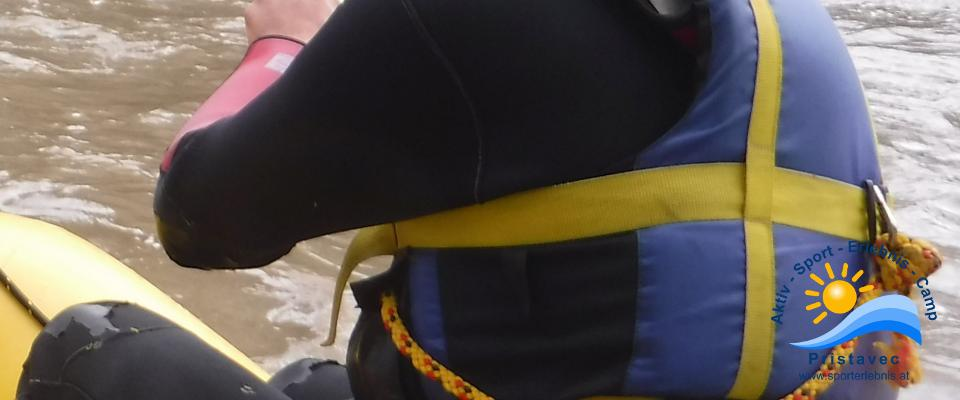Roy Canyoning und Rafting Guide Bursche für ALLES